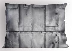 Nostaljik Metal Kapı Yastık Kılıfı Dekoratif
