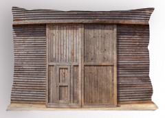 Ahşap Kapı ve Duvar Yastık Kılıfı Dekoratif