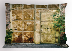 Metal Kapı ve Duvar Yastık Kılıfı Şık Tasarım