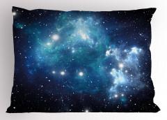 Evren ve Galaksi Yastık Kılıfı Şık Tasarım