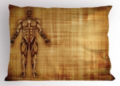 Kas Sistemi Desenli Yastık Kılıfı Anatomik