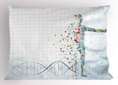 İnsan Vücudunun Yapısı Yastık Kılıfı Biyolojik