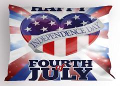 4 Temmuz Kutlu Olsun Yastık Kılıfı 4 Temmuz Şık