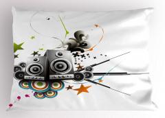 Gümbür Gümbür Müzik Yastık Kılıfı Hoparlörler