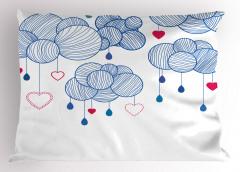 Kalpler Sarkan Balonlar Yastık Kılıfı Dekoratif