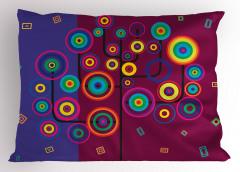 Daire Ağacı Desenli Yastık Kılıfı Dekoratif Şık Trend