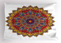 Nostaljik Şık Çiçek Yastık Kılıfı Dekoratif