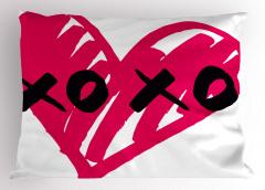 Mor Kalpli Xox Oyunu Yastık Kılıfı Eğlenceli Şık