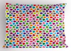 Rengarenk Karışık Yastık Kılıfı Şık Tasarım