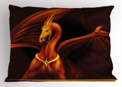 Fantastik Hayvan Yastık Kılıfı Kahverengi Dekoratif