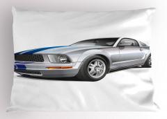 Gri Spor Araba Yastık Kılıfı Otomobil Şık Tasarım