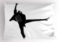 Estetik Dans Yastık Kılıfı Erkek Dansçı Sanatsal