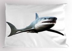 Köpek Balığının Dişleri Yastık Kılıfı Deniz Okyanus