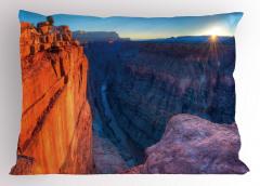 Büyük Kanyon'da Gün Doğumu Manzaralı Yastık Kılıfı