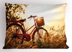 Bisiklet Gezintisi Temalı Yastık Kılıfı Sonbahar