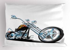 Motosiklet Tutkunlarına Özel Yastık Kılıfı Spor