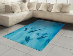 Köpek Balıkları Halı (Kilim) Köpek Balıkları Mavi