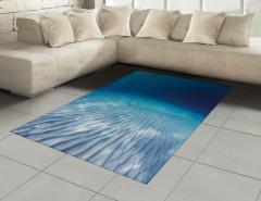Su Altında Yaşam Halı (Kilim) Sualtı Yaşam Temalı Okyanus