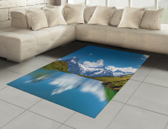 Karlı Dağlar Halı (Kilim) Karlı Dağlar Mavi