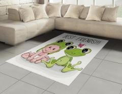 Bebek ve Kurbağa Halı (Kilim) Çocuklara
