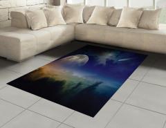 Kuyruklu Yıldız Halı (Kilim) Kuyruklu Yıldız Gökyüzü Mars