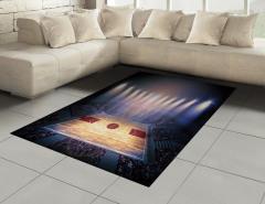 Basketbol Işığı Halı (Kilim) Arena Işıklar