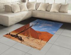 Namibya Çöl Manzarası Halı (Kilim) Çöl Manzaralı Namibya