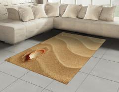 Kumsaldaki Deniz Kabuğu Halı (Kilim) Yaz Sahil