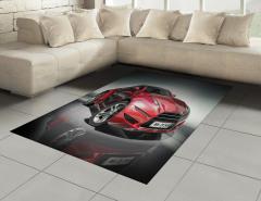 Spor Araba Halı (Kilim) Siyah