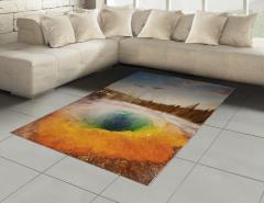 Volkanik Gölet Halı (Kilim) Büyüleyici Doğa