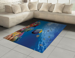 Tropikal Balıklar Halı (Kilim) Tropikal Balıklar