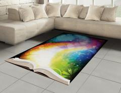 Peri Masalı Kitabı Halı (Kilim) Peri Masalı Kitabı Şık Tasarım