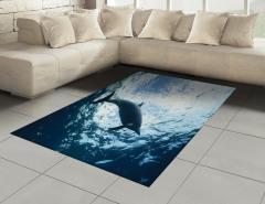 Deniz ve Yunus Halı (Kilim) Yunus Mavi