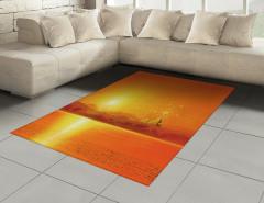 Mısır Piramitleri Desenli Halı (Kilim) Deniz ve Güneş