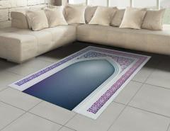 İslam Etkili Kapı Halı (Kilim) Şık Dekoratif