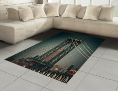 Manhattan Köprüsü Halı (Kilim) Mimari Etkili