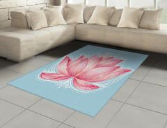 Pembe Lotusun Büyüsü Halı (Kilim) Çeyizlik