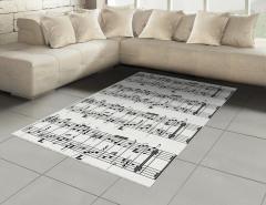 Porte ve Notalar Halı (Kilim) Müziğin Dili