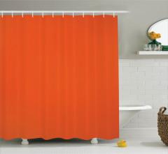 Turuncu Duş Perdesi Şık Modern Tasarım Trend