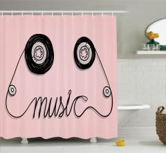 Nostaljik Duş Perdesi Kara KalemKaset Müzik