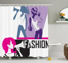 Moda Tutkunları için Duş Perdesi Şık Tasarım Trend