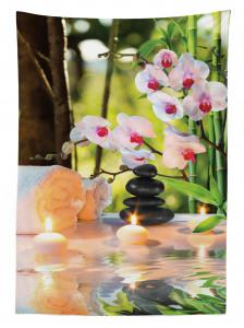 Kendini Şımartmayı Sevenler İçin Masa Örtüsü Çiçek
