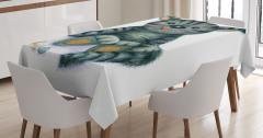 Çocuklar için Masa Örtüsü Sevimli Kedi Desenli