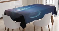 Samanyolu Galaksisi Temalı Masa Örtüsü Uzay Kozmos