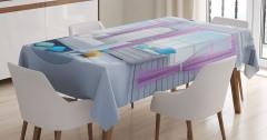 Rüya Yatak Odası Masa Örtüsü Fantezi Ahşap Ev
