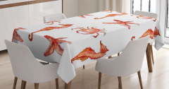Denizatı Denizyıldızı ve Yengeç Masa Örtüsü Şık