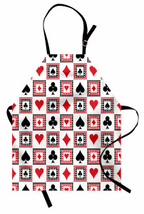 Icons of Playing Cards Apron