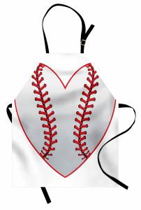 Leidenschaft für Baseballthema Kochschürze