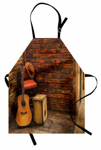 Wooden Stage Pub Cafe Apron