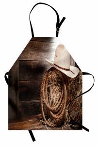 Wooden Folk Robe Hat Apron